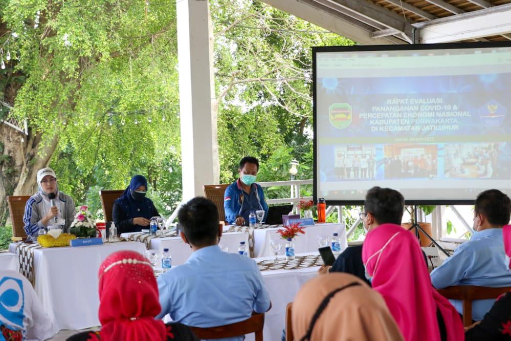 Pemkab Evaluasi PPKM Mikro di Kecamatan Jatiluhur