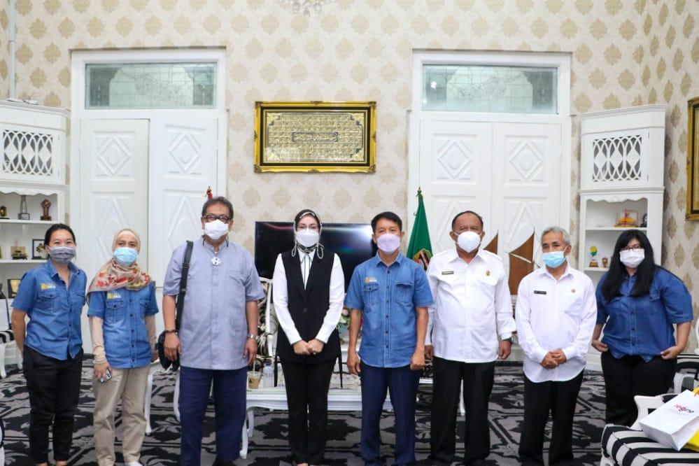 Bintang Toedjoe Jadikan Purwakarta Sebagai Wilayah Penelitian Jahe Merah