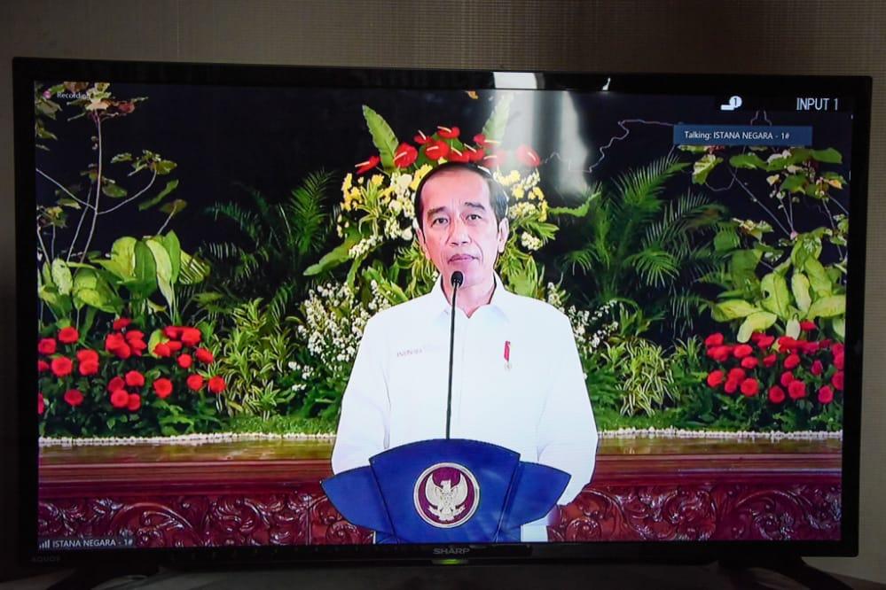 Bupati Purwakarta Hadiri Rakor Kepala Daerah Seluruh Indonesia Secara Virtual