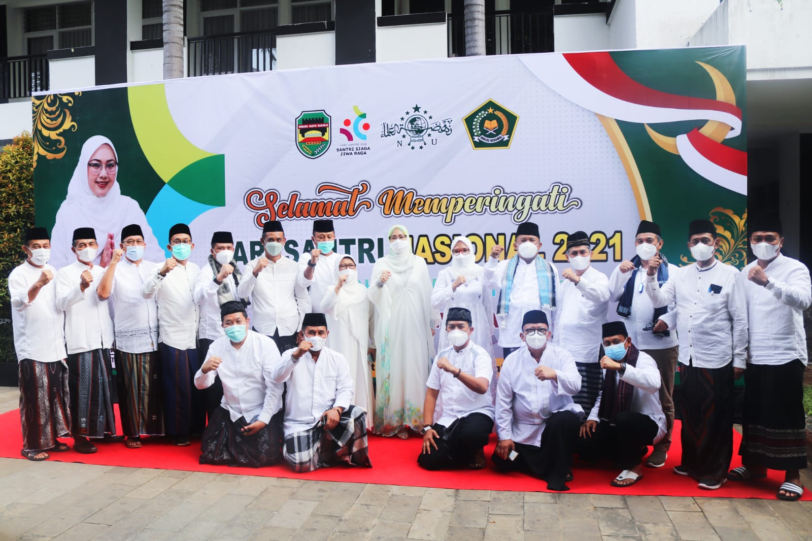 Jiwa Raga Santri Purwakarta Siaga untuk Indonesia
