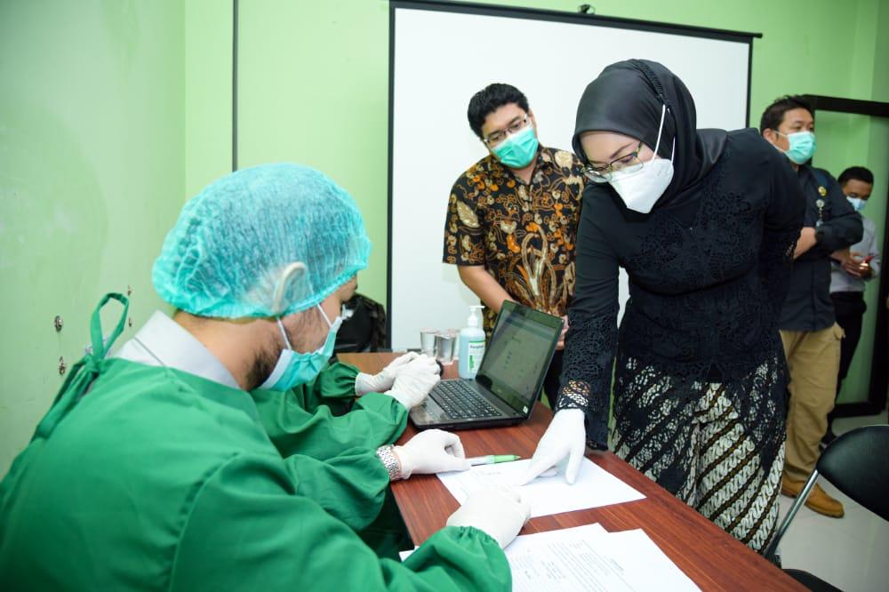 Vaksinansi Covid-19 di Purwakarta di Push Melebihi Angka 60 Persen