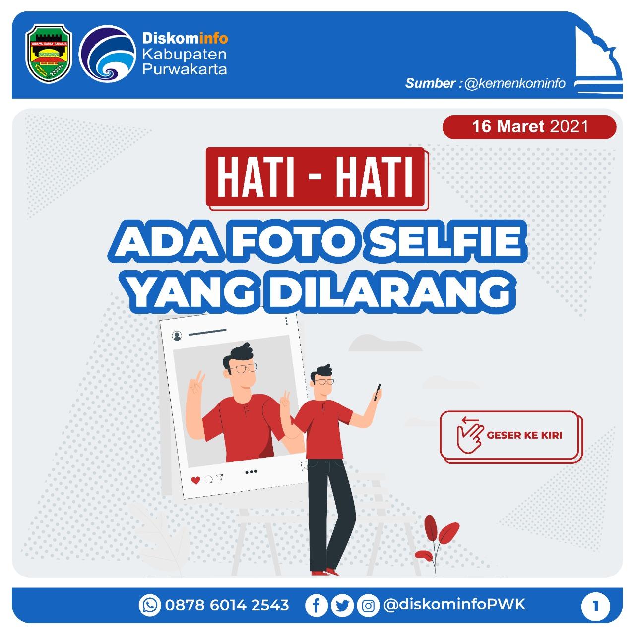 Hati-hati Ada Foto Selfie yang Dilarang