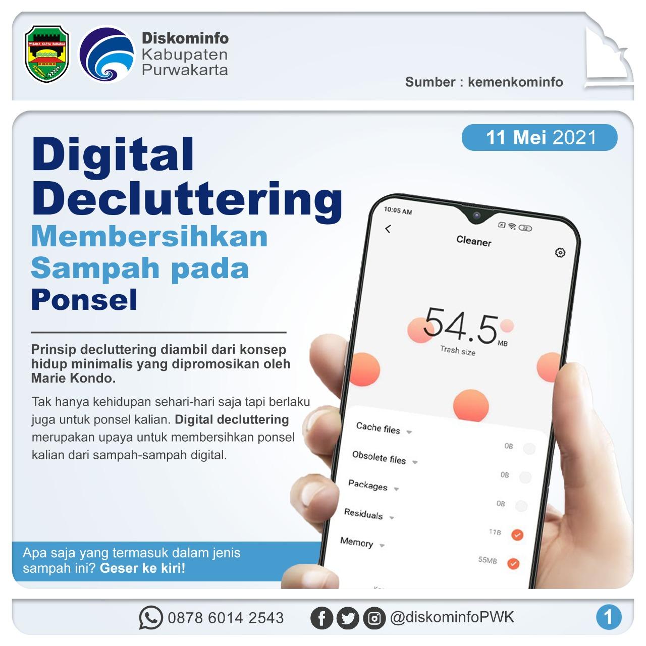 Digital Decluttering Membersihkan Sampah Pada Ponsel