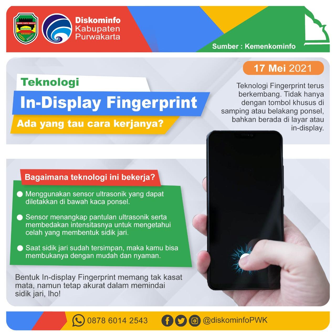 Teknologi In-Display Fingerprint