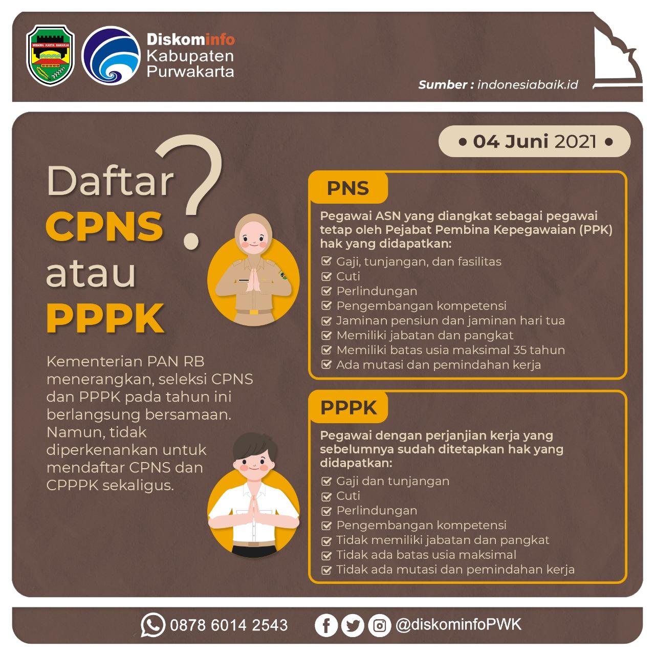 Daftar CPNS atau PPPK?