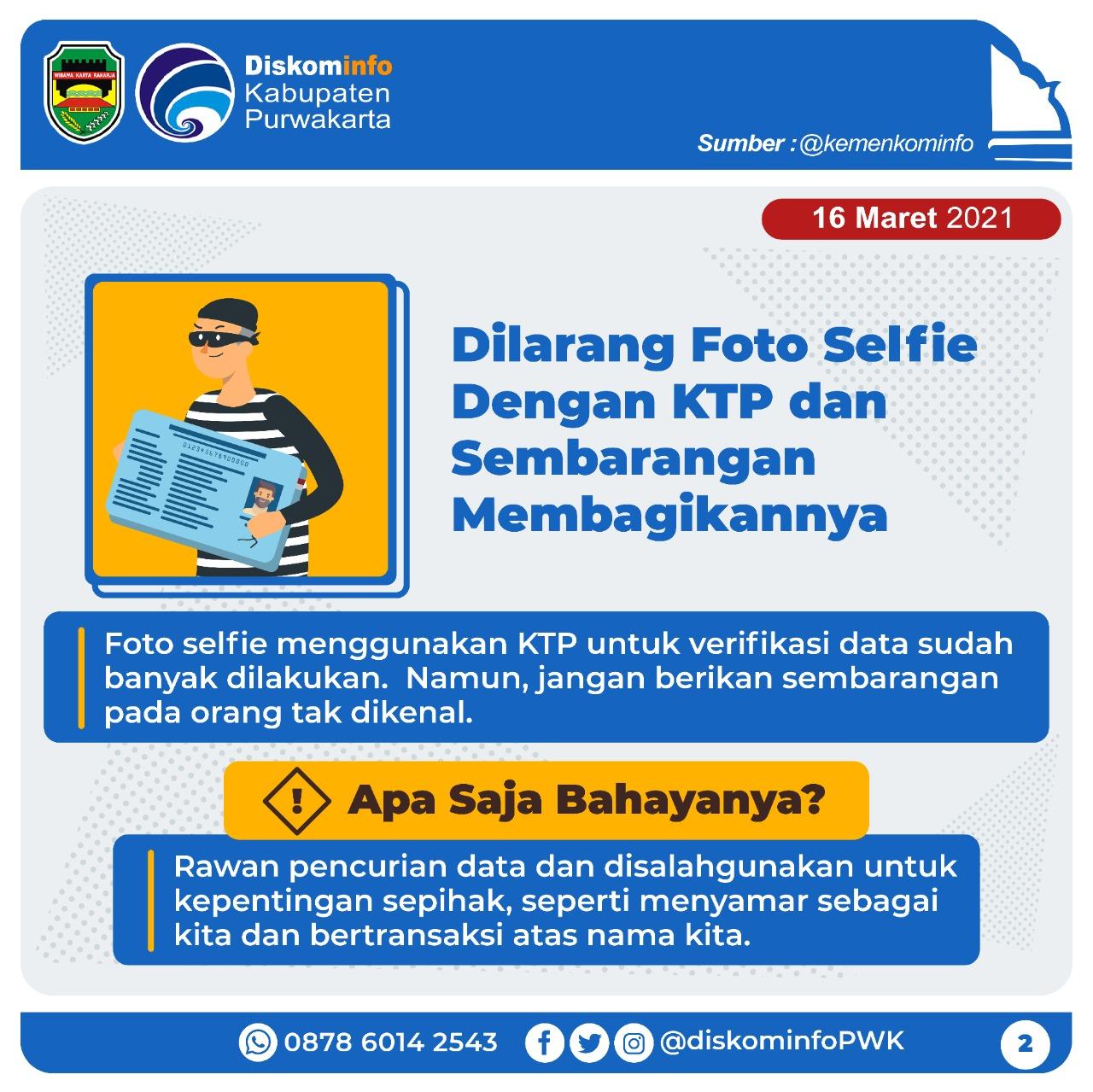 Dilarang Foto Selfie
