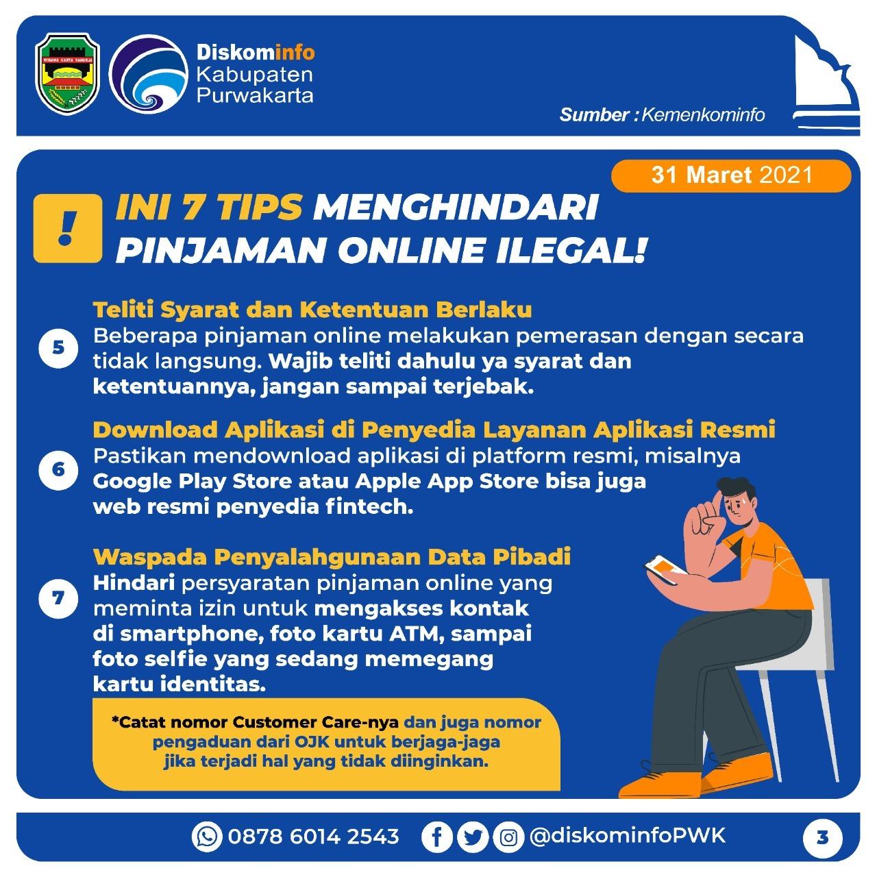 Tips Menghindari Pinjaman Online Ilegal
