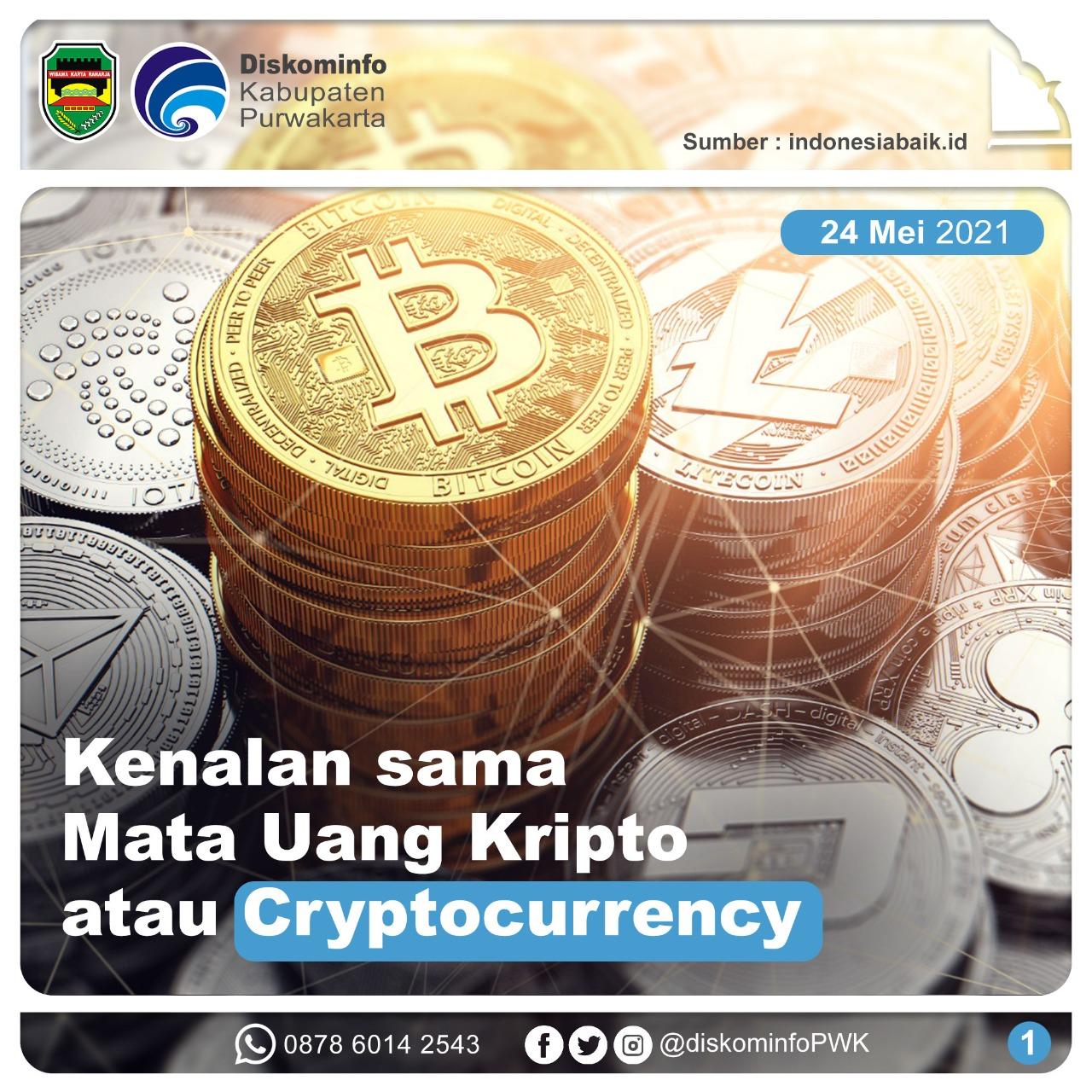 Kenalan Sama Mata Uang Kripto atau Cryptocurrency