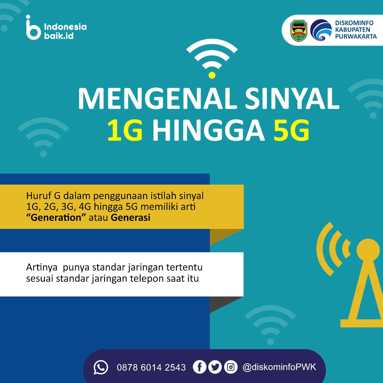 Mengenal Sinyal 1G Hingga 5G