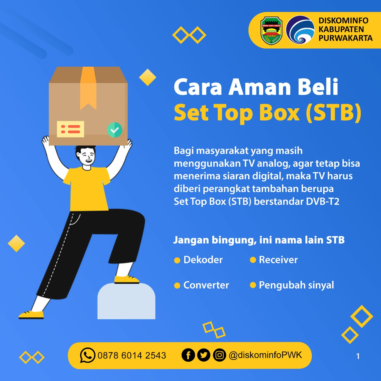 Cara Aman Beli Set Top Box (STB)