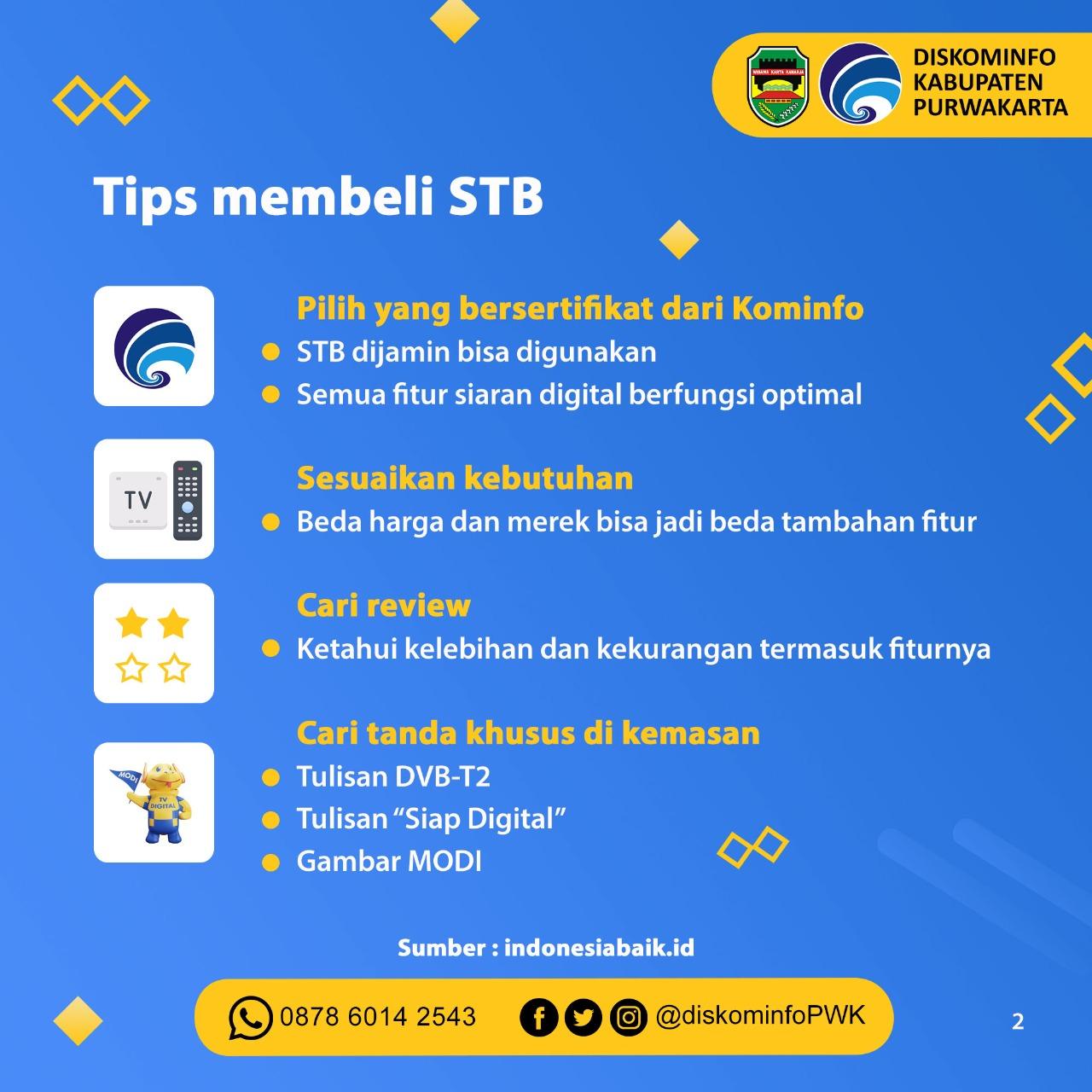 Tips Membeli STB